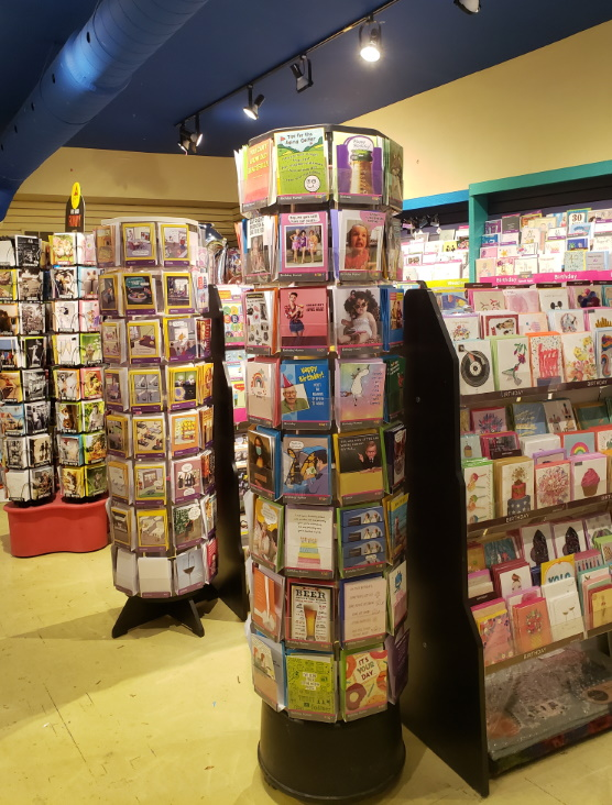 In-store stationary photo